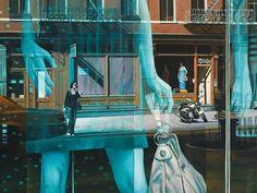 SoHo on Sunday 30 x oil on canvas Bruce Braithwaite Soho, Original Art, Original Paintings, Oil On Canvas, Sunday, Nyc, The Originals, Studio, Daniel Levy