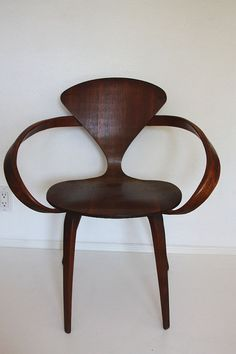 MidCentury Cherner Pretzel Chair by owsupply on Etsy, 850.00