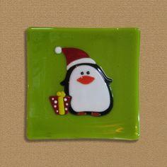 Penguin Pal by LassenGlassWorks on Etsy, $40.00