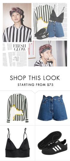"""Do You--- Rap Monster"" by alicejean123 ❤ liked on Polyvore featuring Haider Ackermann, Valentino and adidas"