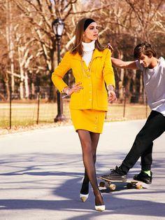 Vogue Spain December 2014 by Victor Demarchelier (Vogue Espana)