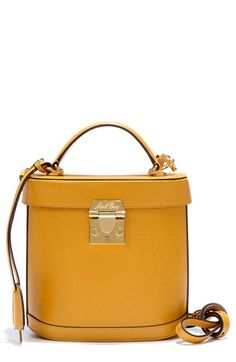 Mark Cross 'Benchley - Small' Saffiano Calfskin Binocular Bag available at #Nordstrom