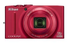 Nikon COOLPIX S8200 16.1 MP CMOS Digital Camera with 14x Optical Zoom NIKKOR ED Glass Lens and Full HD 1080p Video (Red) by Nikon. $258.92. From the Manufacturer                     Catch those summer evening shots around the bonfire, or freeze the action of the winning goal. Fast, responsive and boasting an incredible 14x optical Zoom-NIKKOR ED glass lens, the Nikon COOLPIX S8200 will help you capture images you may previously have missed. Its 16.1-MP CMOS sensor cris...