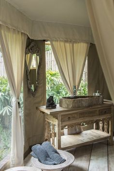 Sandat Glamping Tents Camp, Ubud, Bali We are so proud to be apart of this amazing resort! -ET