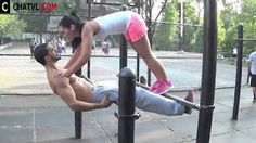 perfect two ♥ Cute Couple Workout ♥ Streetworkout ♥ - YouTube