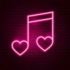 Pink Neon Wallpaper, Iphone Background Wallpaper, Neon Light Signs, Led Neon Signs, Neon Rosa, Neon Symbol, Pink Neon Sign, Snapchat Icon, Pink Music