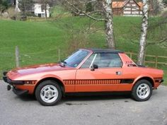 Fiat X1/9 O.K. But it started my love affair with Italian mid engined.