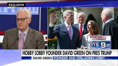 """We pray for him...You're not going to make America great without God's word and without God.""   Hobby Lobby's CEO David Green says, though Marco Rubio was his first choice for president, he believes President Donald J. Trump will ensure religious liberties. What do you think?"