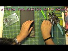 ▶ how to make a file folder insert with pen loops for your Midori - YouTube