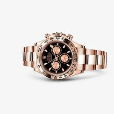 Discover the Cosmograph Daytona watch in 18 ct Everose gold on the Official Rolex Website. Model: 116505