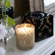 Royal Collection candles @designersguild