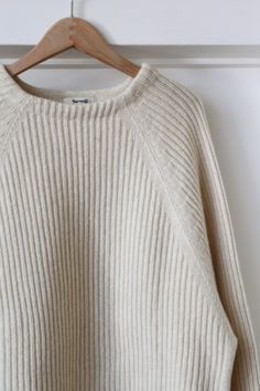 """Samuji ( FINLAND ) MAPLE WOOL VISCOSE KNIT """" OFF WHITE """" - ...lancah Margaret Howell, Finland, Off White, Turtle Neck, Beige, Wool, Knitting, My Style, Simple"""