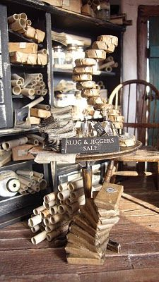 Miniature apothecary: Slug and Jiggers from Harry Potter