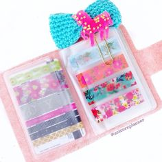 All washi wallets (besides the yellow) have been restocked at www.unicornplanner.com!  How do you use yours?!