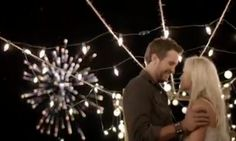 Luke Bryan and Caroline Bryan in the Crash My Party music video...Perfection ♥