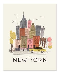 new york by anna bond....oh this has to be mine