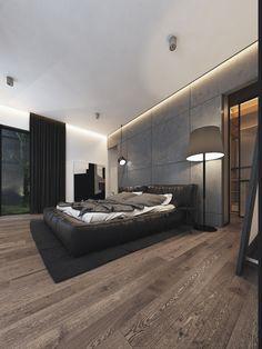House in Israel — дизайн коттеджа и интерьера в стиле Loft in Israel — leqb Architects