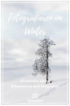 Deine Schneefotos wirken trüb und matschig oder haben einen komischen Blaustich? Fotografieren im Winter ist gar nicht so einfach, doch mit meinen einfachen Tipps machst auch du bald sensationelle Fotos von zauberhaften Schneelandschaften, versprochen! #fototipps