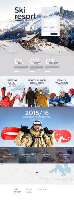 Skiing Responsive Landing Page Template http://www.templatemonster.com/landing-page-template/skiing-responsive-landing-page-template-59100.html