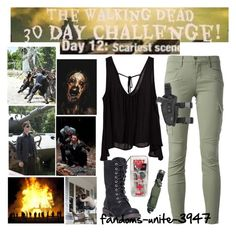 Day 12: Read the D please by fandoms-unite-3947 on Polyvore featuring J Brand, DansSara, Episode and RIFLE