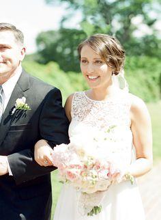 Photography: Sweet Tea Photography - sweetteaphotographybylisamarie.com  Read More: http://www.stylemepretty.com/2014/09/25/summer-garden-wedding-at-river-farm/