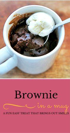 brownie in a mug recipe