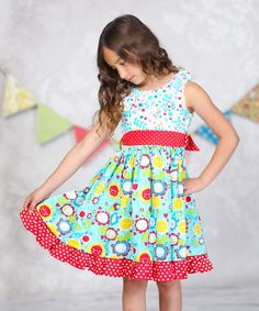 Another great find on #zulily! Sunshine Debbie Dress - Infant, Toddler & Girls by Jelly the Pug #zulilyfinds