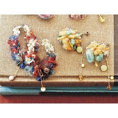 糸の魔法でときめく アヴリルの糸とチェコビーズで作る乙女ピアス|フェリシモ