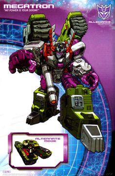 Transformers Universe - Gallery: Armada Megatron