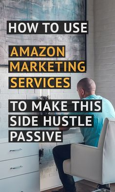 Amazon marketing services is now called Amazon advertising and it is the best tool to make your sales passive! Affiliate Marketing, Online Marketing, Content Marketing, Amazon Advertising, Advertising Ideas, Make Money Online, How To Make Money, Self Publishing, Online Work