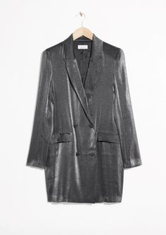 & Other Stories image 2 of Blazer Dress in Purple