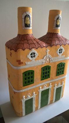1 million+ Stunning Free Images to Use Anywhere Glass Bottle Crafts, Wine Bottle Art, Diy Bottle, Decorated Wine Glasses, Painted Wine Glasses, Bottles And Jars, Liquor Bottles, Plastic Bottles, Glass Bottles