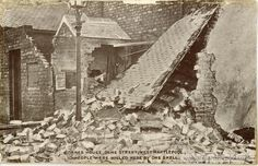 Hartlepool residents became the first British civilians to be bombed by German plane in 1914