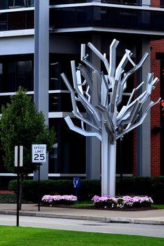 Steel I-Beam Tree