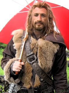 Fili...with an umbrella