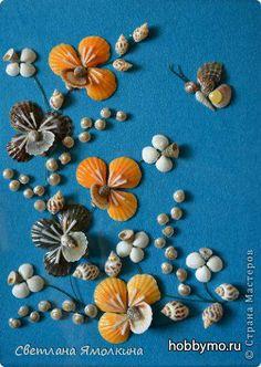 Мастер-класс 'Цветок из ракушек своими руками. Поделки из ракушек' - Море хобби. Мы расскажем вам все о рукоделии и мастер-классах