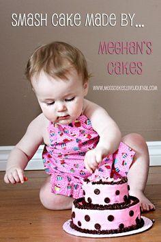 Pink Smash Cake by Meghans Cakes (on a cake break!), via Flickr