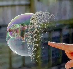 20 Perfectly Timed Breathtaking Pictures | Incredible Pictures      ….. BUBBLE BURST…...