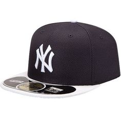 9c034c9bfa5e27 Men's New York Yankees New Era Navy/White On Field Diamond Era 59FIFTY  Fitted Hat