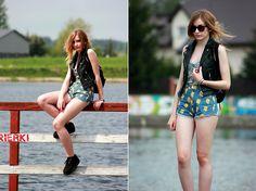 Stylepit Vest, Choies Shorts