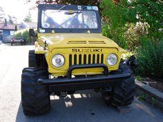 suzuki lj 80 monster - Buscar con Google Suzuki Sj 410, Samurai, Suzuki Cars, Life Car, Suzuki Jimny, Jeep Truck, Lifted Trucks, Cars And Motorcycles, Offroad