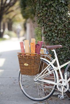 Cruiser bike baskets.