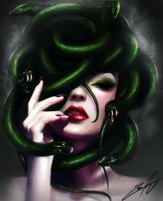 Medusa by EMI-TRI on DeviantArt