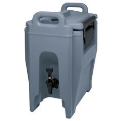 Cambro UC250192 Ultra Camtainer Beverage Carrier Insulated Plastic 234 Gallon Granite Green NSF *** Click on the image for additional details.