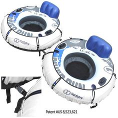 Intex Heavy Duty River Run Tube with Cover Pack) Lake Toys, Pool Rafts, Pool Floats, Tube, River, Running, Outdoors, Camping, Games