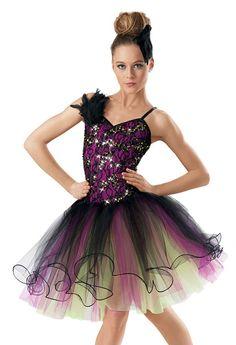 Sequin Lace Curly Hem Ballet Tutu -Weissman Costum