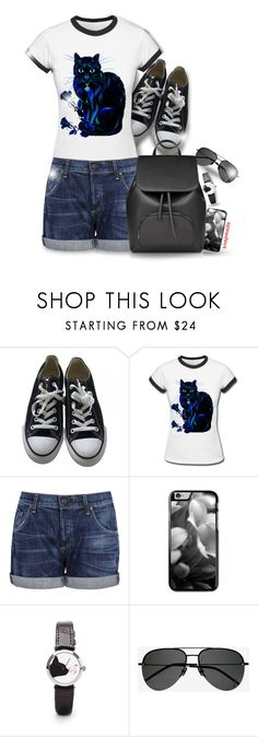 """""""Snapmade"""" by asia-12 ❤ liked on Polyvore featuring Converse, Citizens of Humanity, Yves Saint Laurent and snapmade"""