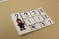 Math fact mysteries...a great way to practice math facts and number sense!