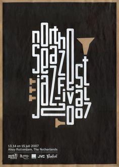 North Sea Jazz Festival - poster jazz - affiche - Portfolio Max Elbling