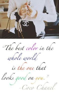 Coco Chanel words